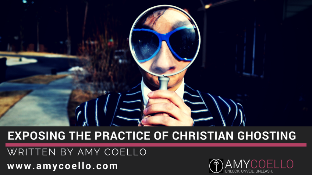 Exposing the Practice of Christian Ghosting